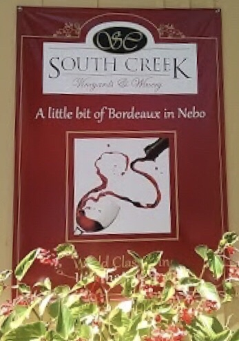 South Creek Vineyards and Winery – Nebo,N.C.