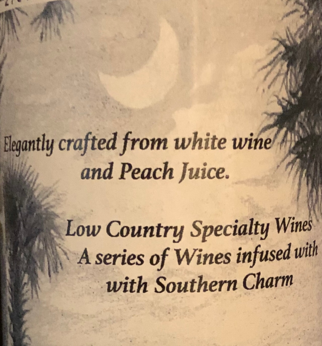 Our Wine Tonight – Peach on the Beach