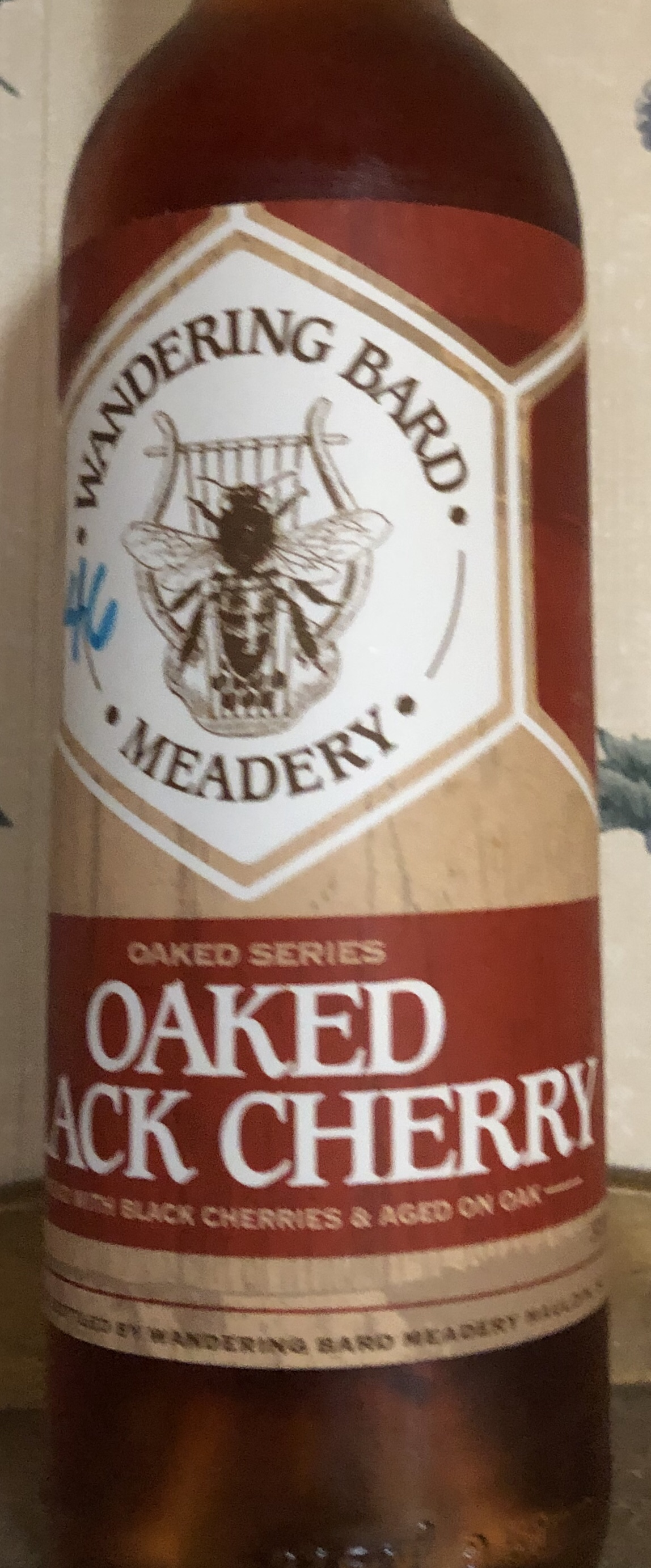 Oaked Black Cherry – Wandering Bard Meadery