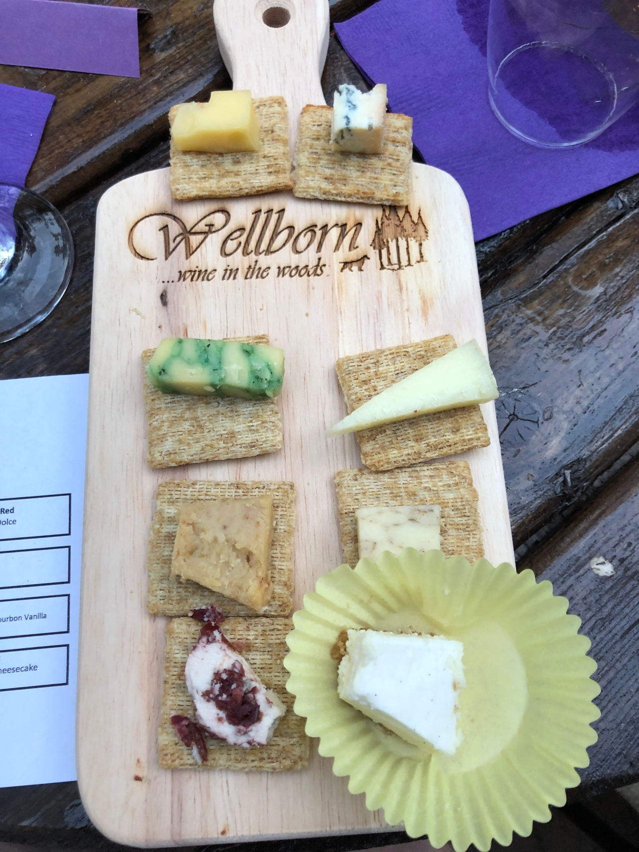 Wine and Cheese Pairing @ Wellborn Winery