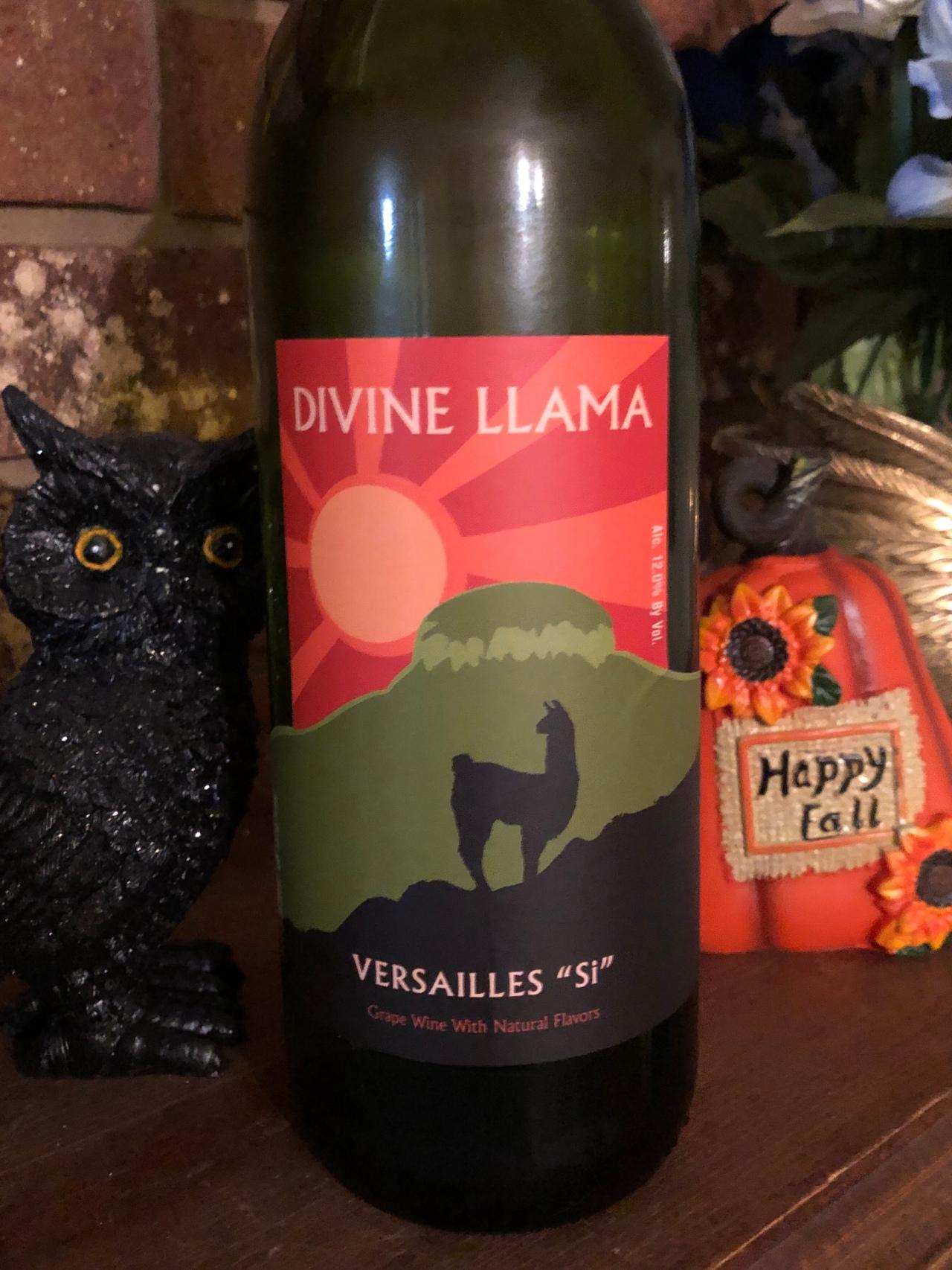 """Versailles """"SI"""" …. – Divine LlamaVineyards"""