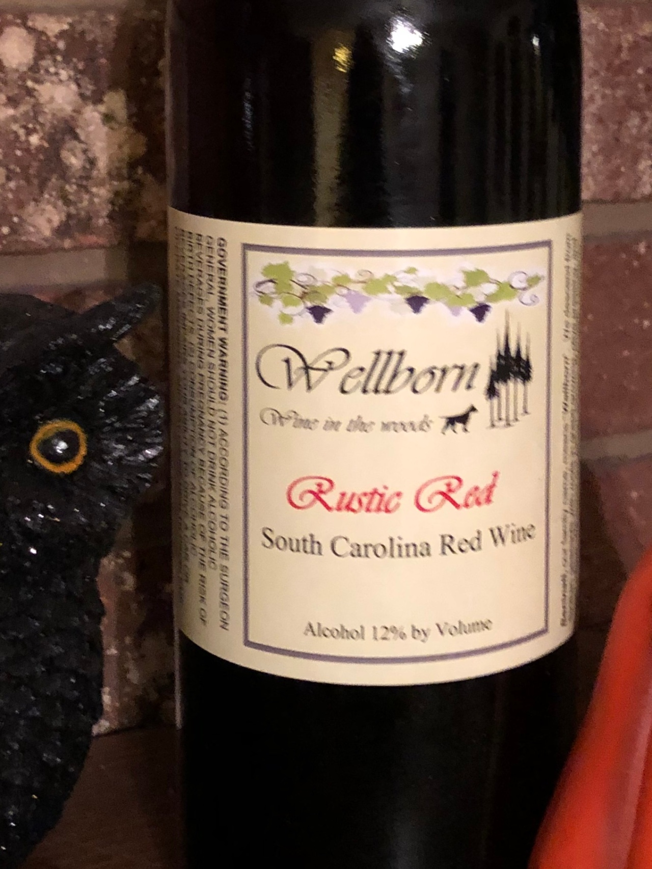 Rustic Red – Wellborn Winery