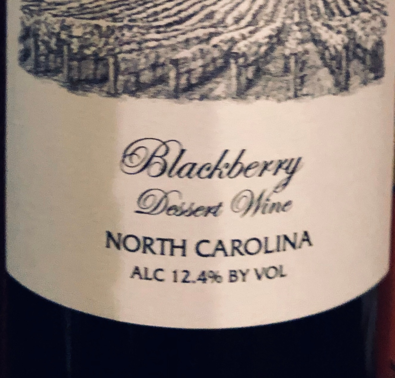 Blackberry Desert Wine – Parker-Binns Vineyard
